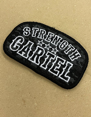 STRENGTH CARTEL Camo Patch