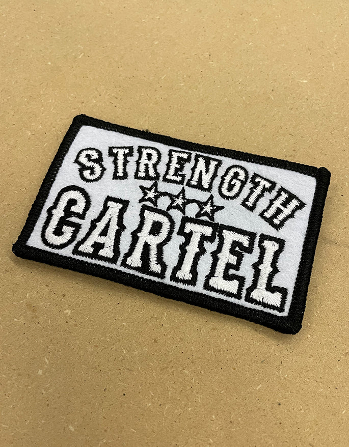 STRENGTH CARTEL Felt Patch