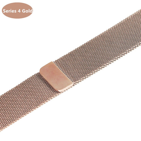 Apple Watch Band Milanese Loop Stainless Steel Wrist Strap