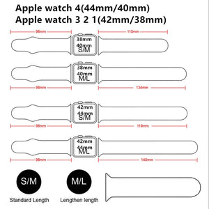 Apple Watch Band Silicone Bracelet