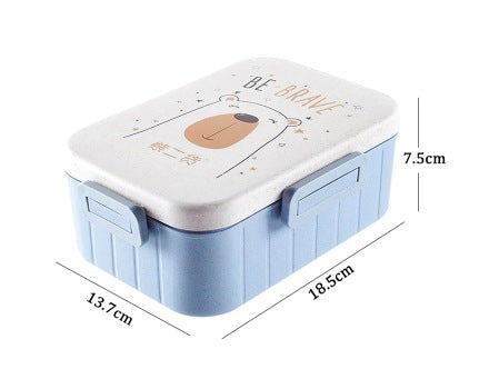 Bento Lunch Box Container Microwaveable For Kids School