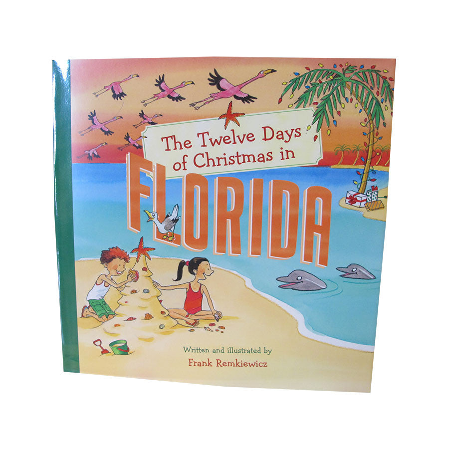 Twelve Days Of Christmas Book.Twelve Days Of Christmas Florida Book