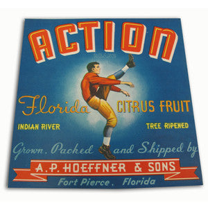 Action Crate Label