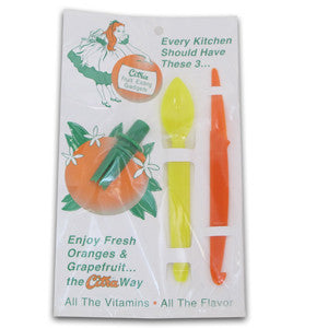 Combo pack: Peeler, Sipper and Spoon