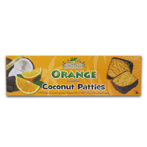 Orange Flavored Coconut Patties