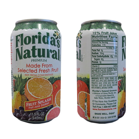 Florida's Natural Fruit Splash 11.5oz Cans