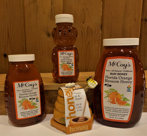 Mc Coy Orange Blossom Honey