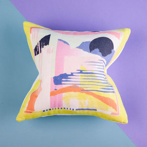 Lottie Goodman Mini Alicia Print Cushion