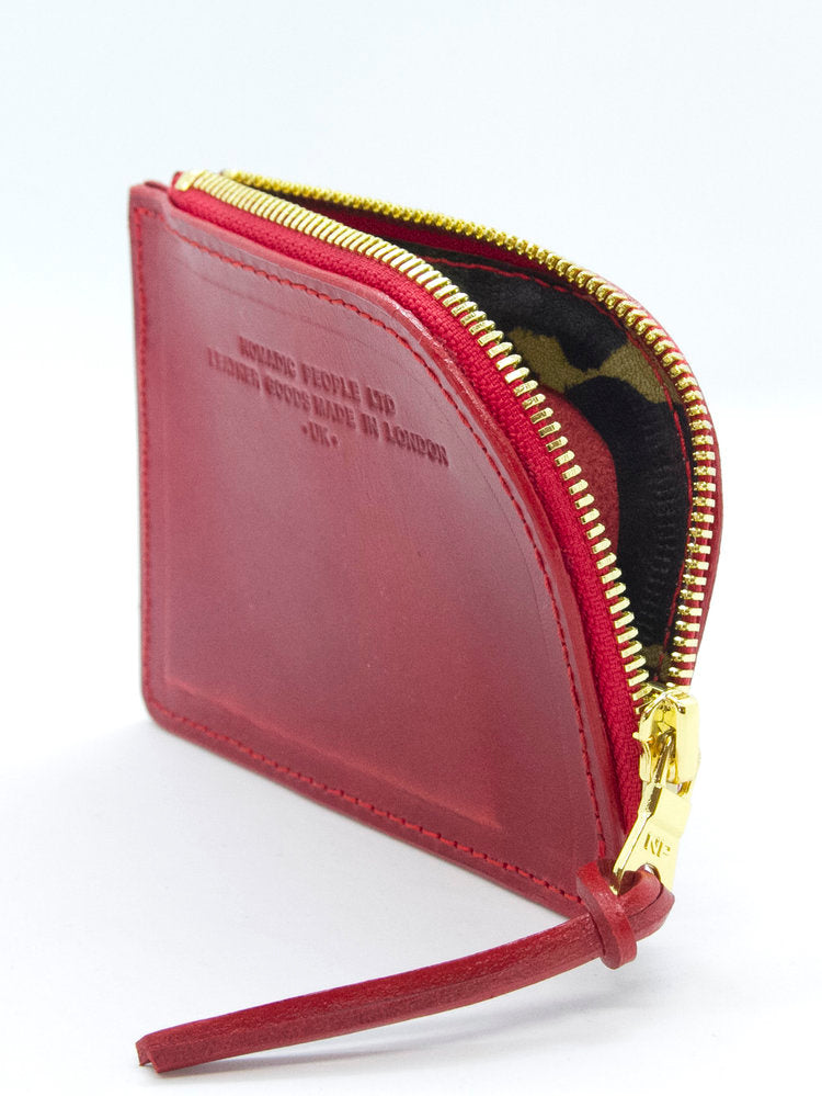 Nomadic People Friary Zip Wallet In Crimson