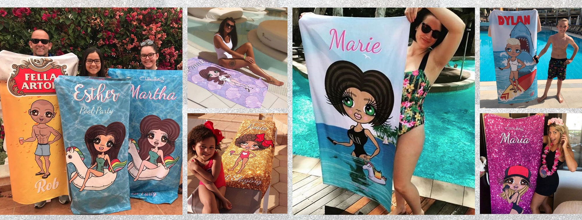 ClaireaBella Beach Towels