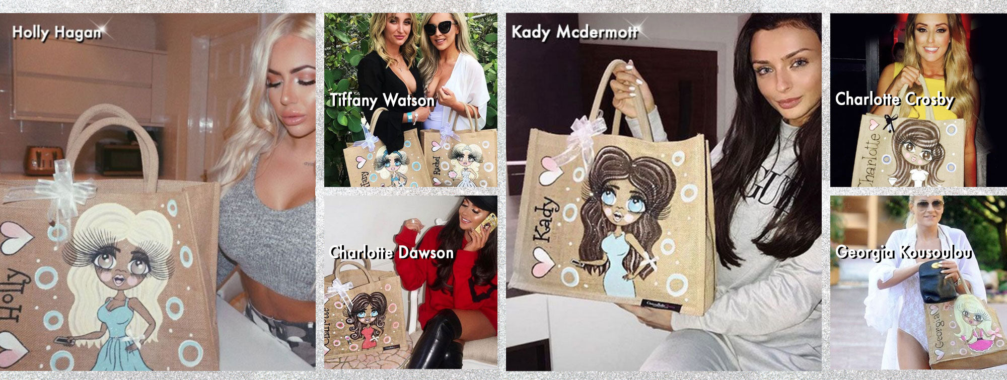 ClaireaBella Jute Bags
