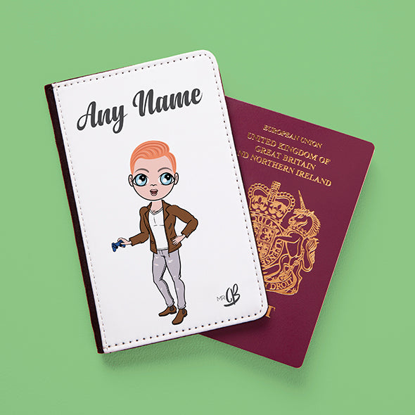 MrCB White Passport Cover - Image 2