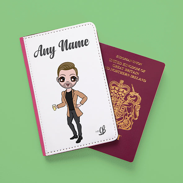 MrCB White Passport Cover - Image 3