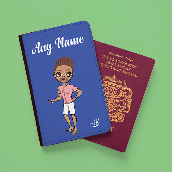 MrCB Blue Passport Cover - Image 2
