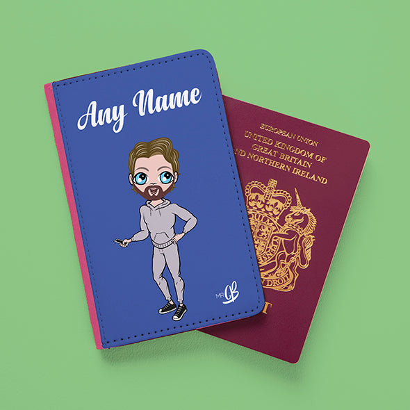 MrCB Blue Passport Cover - Image 4