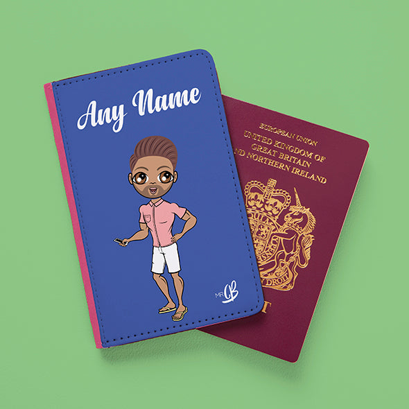 MrCB Blue Passport Cover - Image 3