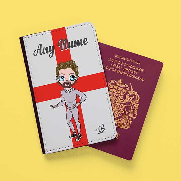 MrCB England Flag Passport Cover - Image 1