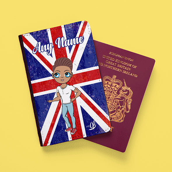 MrCB Union Jack Passport Cover - Image 1