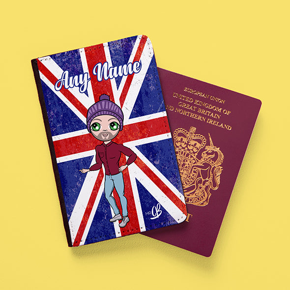 MrCB Union Jack Passport Cover - Image 2