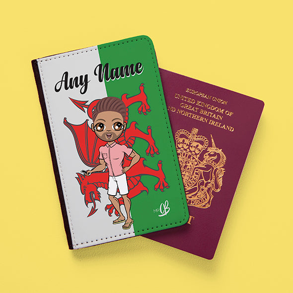 MrCB Welsh Flag Passport Cover - Image 1