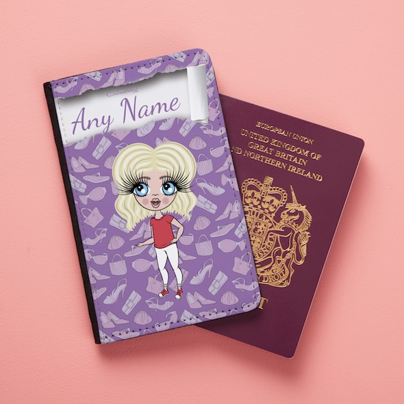 Claireabella Girls Fashionista Passport Cover - Image 1