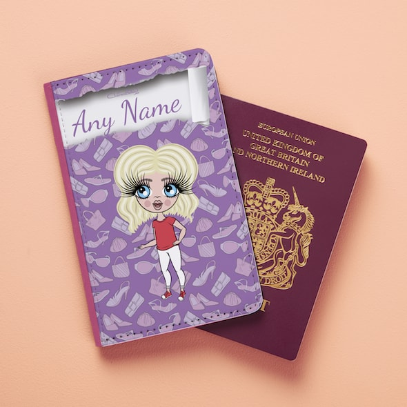 Claireabella Girls Fashionista Passport Cover - Image 4