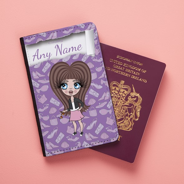 Claireabella Girls Fashionista Passport Cover - Image 3