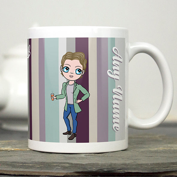 MrCB Coloured Stripe Mug - Image 3