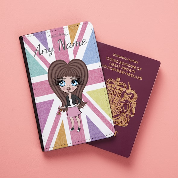 ClaireaBella Girls Union Jack Passport Cover - Image 3