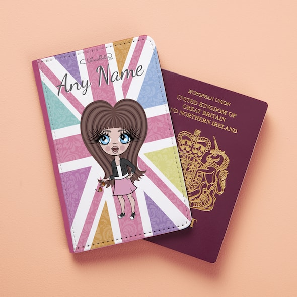 ClaireaBella Girls Union Jack Passport Cover - Image 4