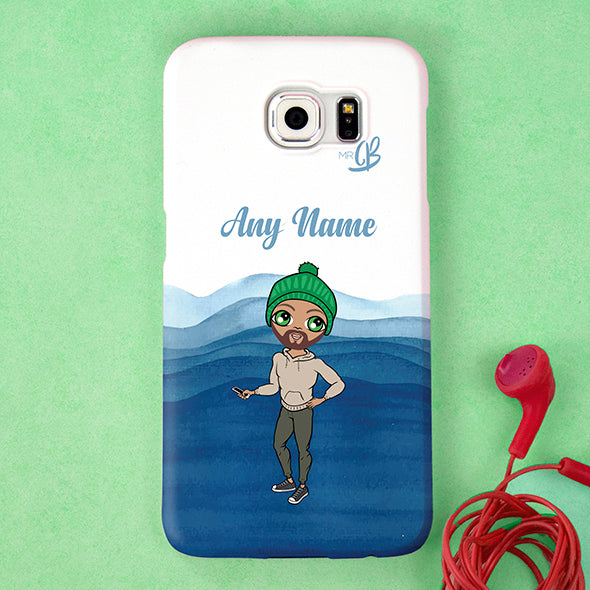 MrCB Personalised Waves Phone Case - Image 2