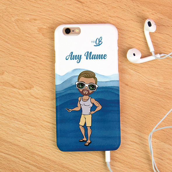 MrCB Personalised Waves Phone Case - Image 3