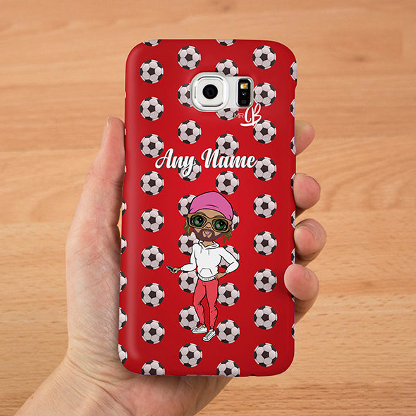MrCB Personalised Football Phone Case - Image 1