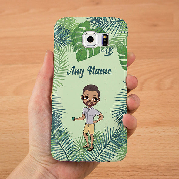 MrCB Personalised Tropical Phone Case - Image 1