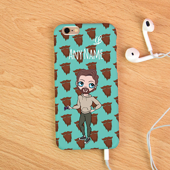 MrCB Personalised Beard Phone Case - Image 1