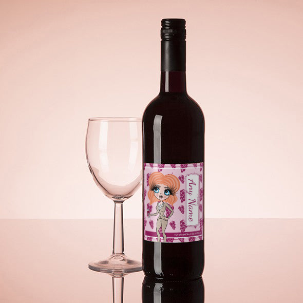 ClaireaBella Personalised Red Wine - Grapes - Image 1