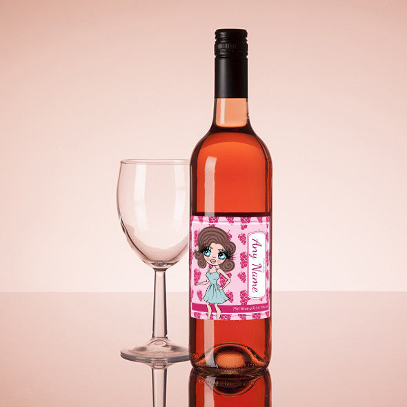 ClaireaBella Personalised Rosé Wine - Grapes - Image 1