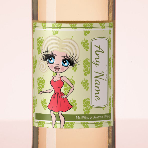 ClaireaBella Personalised White Wine - Grapes - Image 2