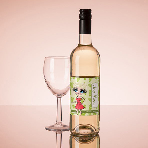 ClaireaBella Personalised White Wine - Grapes - Image 1