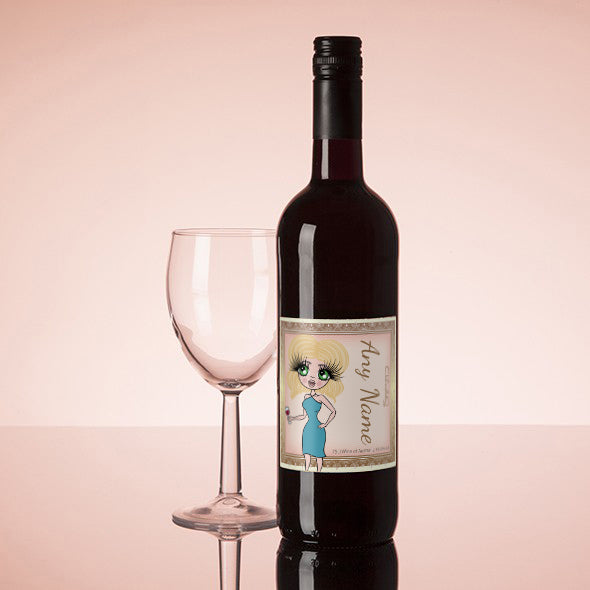ClaireaBella Personalised Red Wine - Golden Vintage - Image 1