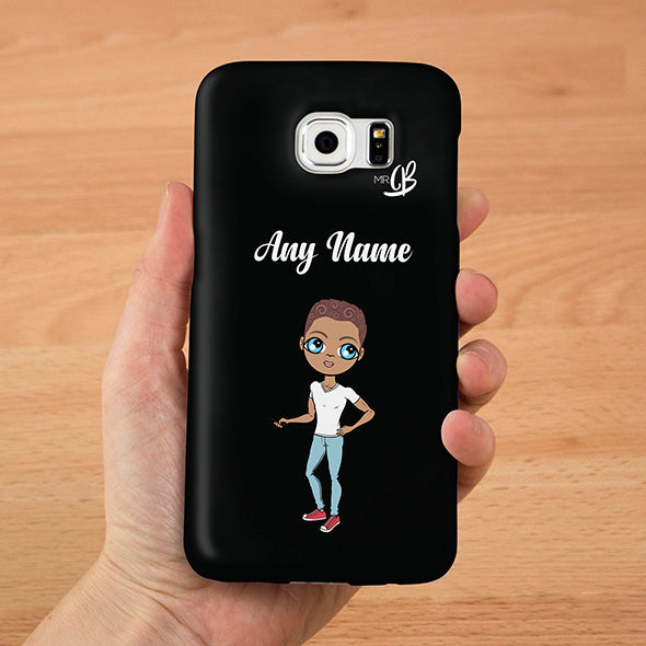 MrCB Personalised Black Phone Case - Image 1