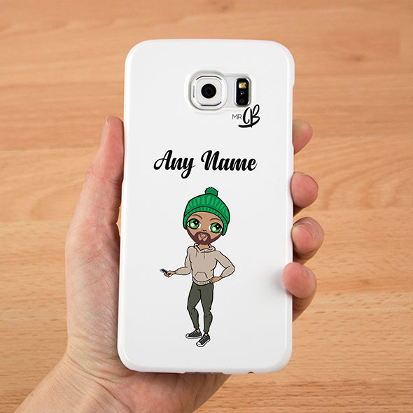 MrCB Personalised White Phone Case - Image 1