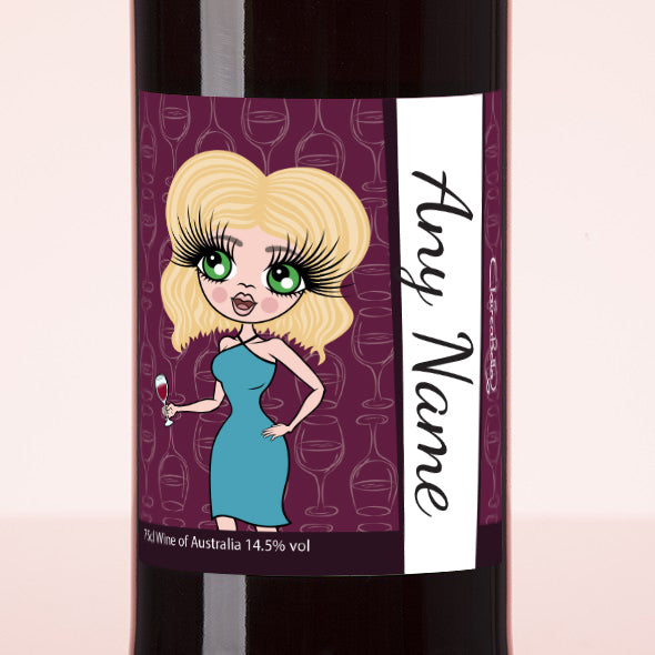 ClaireaBella Personalised Red Wine - Wine Glass - Image 2