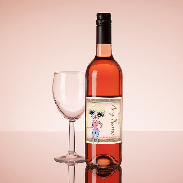 ClaireaBella Personalised Rosé Wine - Golden Vintage - Image 1