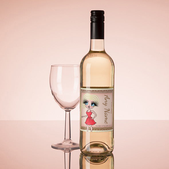 ClaireaBella Personalised White Wine - Golden Vintage - Image 1