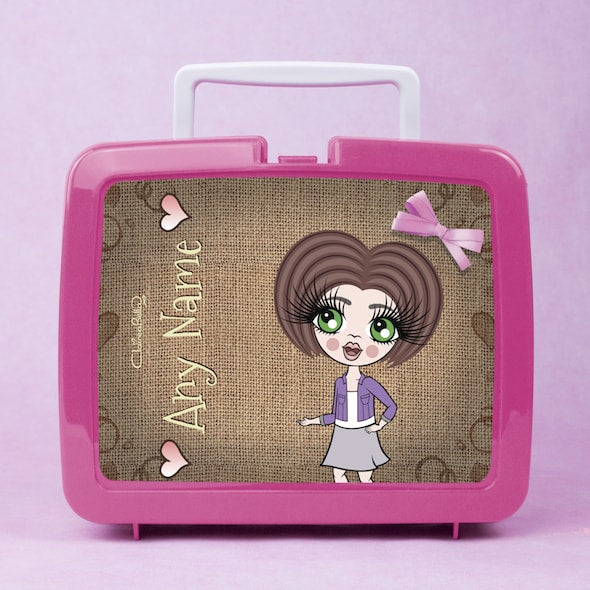 ClaireaBella Girls Jute Lunch Box - Image 1