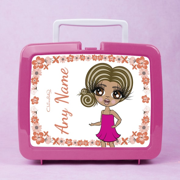 ClaireaBella Girls Flower Lunch Box - Image 1