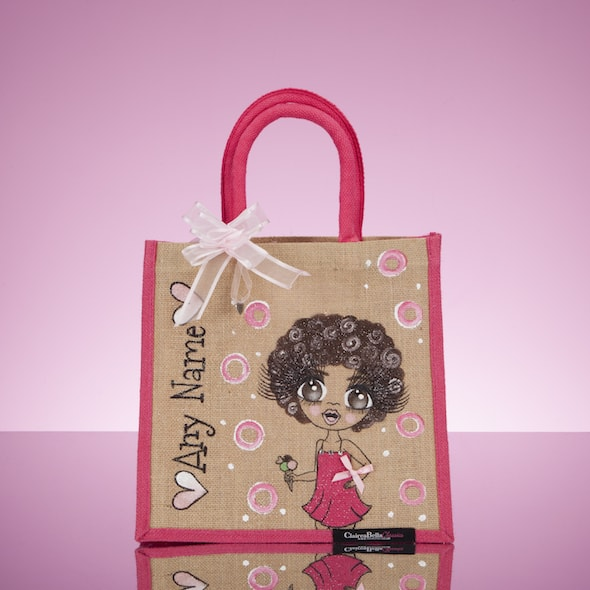 ClaireaBella Girls Colour Crush Jute Bag - Image 1