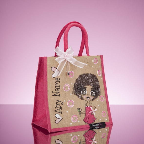 ClaireaBella Girls Colour Crush Jute Bag - Image 3