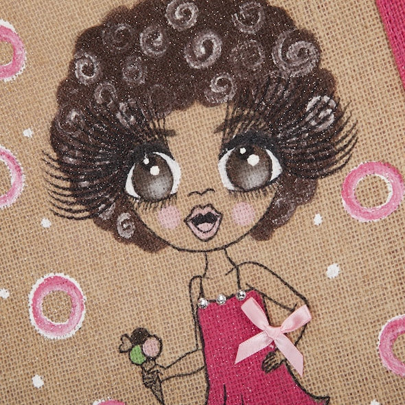 ClaireaBella Girls Colour Crush Jute Bag - Image 2